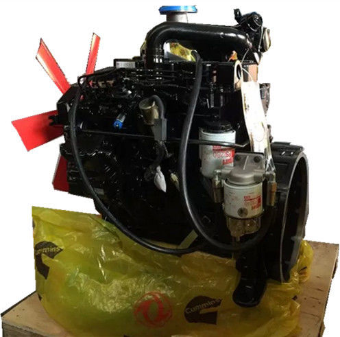 Replacement Water Cooled Diesel Power Engine Four Stroke Cycle Black Color