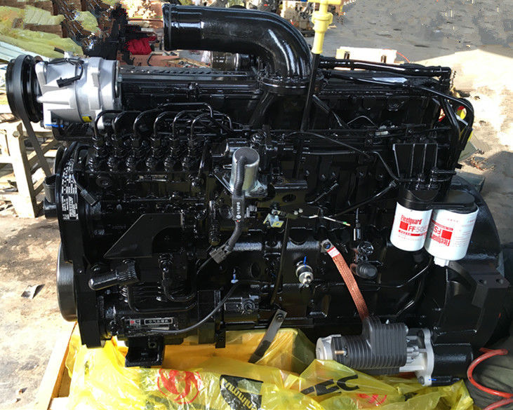 Water Cooled Dump Cummins Diesel Truck Engines , Automobile Diesel Engine Replacement