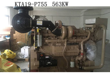 KTA19- P755 CCEC Cummins Industrial Water Pump Engines