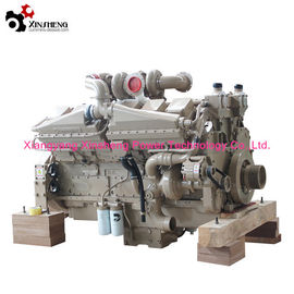 Genuine Cummings Industrial Machinery Diesel Engine KTA38-C1050 V-12 Cylinders 38L Displacement