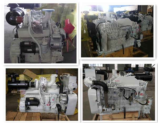 8.3L 6CT Series Maritime Diesel Engines Electric Start Four Stroke 6CTA8.3-M188